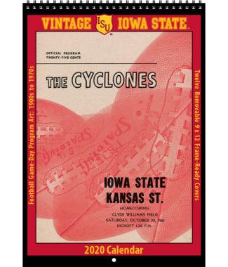 2020 Vintage Iowa State Cyclones Football Calendar