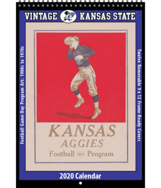 2020 Vintage Kansas State Wildcats Football Calendar