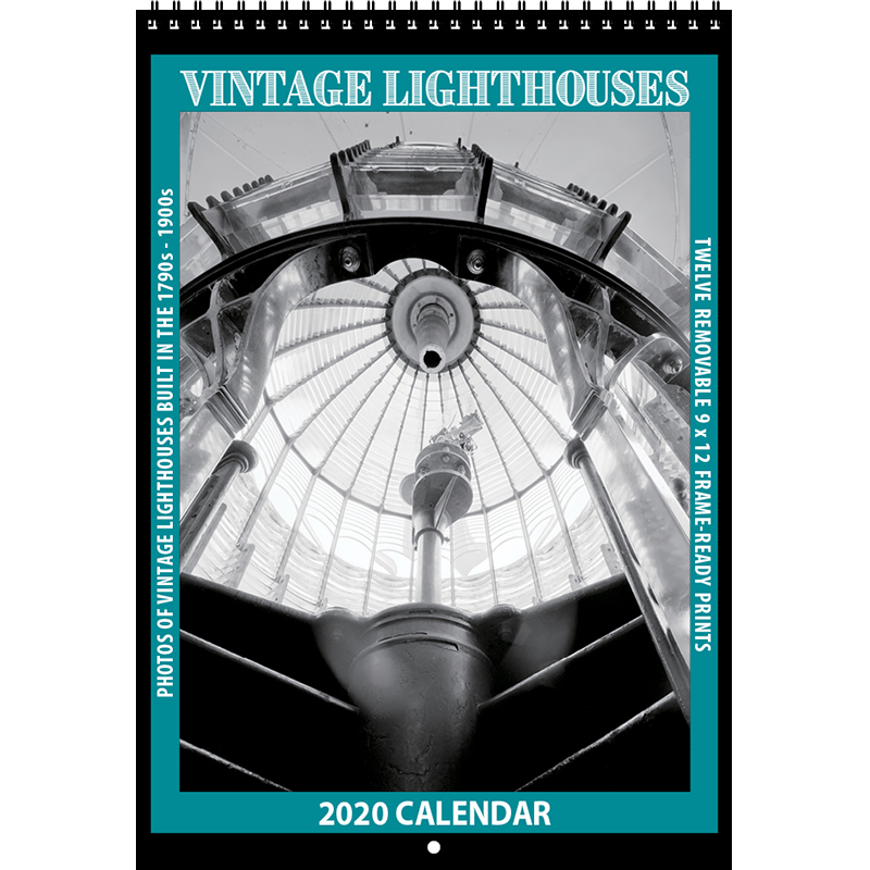 2020 Vintage Lighthouses Calendar