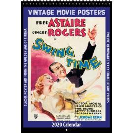 2020 Vintage Movie Posters Calendar
