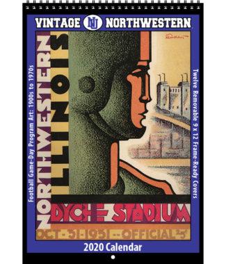 2020 Vintage Northwestern Wildcats Football Calendar