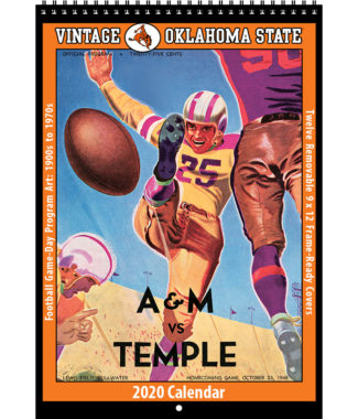 2020 Vintage Oklahoma State Cowboys Football Calendar