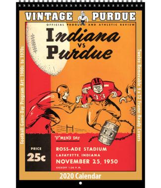 2020 Vintage Purdue Boilermakers Football Calendar