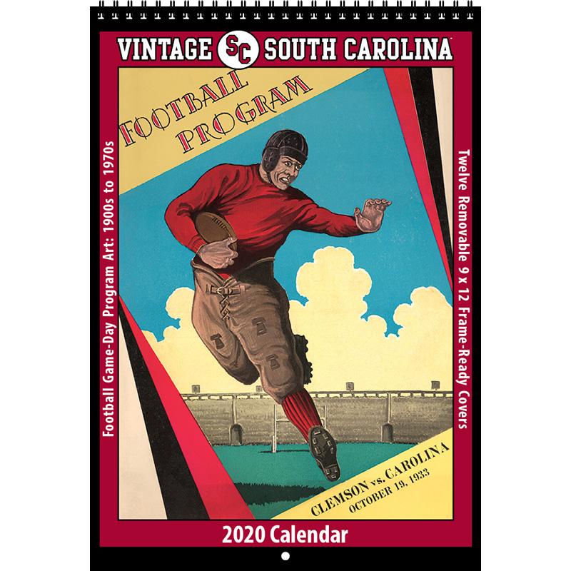 2020 Vintage South Carolina Gamecocks Football Calendar