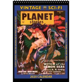 2020 Vintage SCI-FI Calendar