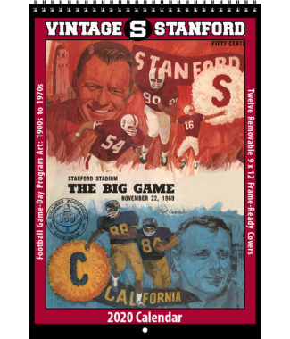 2020 Vintage Stanford Cardinal Football Calendar