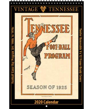 2020 Vintage Tennessee Volunteers Football Calendar