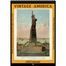 2020 Vintage America Calendar
