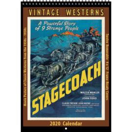 2020 Vintage Westerns Calendar