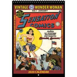 2020 Vintage Wonder Woman Calendar