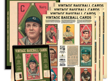 Baseball Playoffs Means Baseball Products SALE!! 20% OFF Wall & Desktop Calendars & 35% OFF Set of 32 Vintage Baseball Card Set!