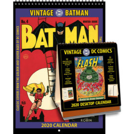 2020 Vintage Batman Calendar & 2020 Vintage DC Comics Desktop Calendar