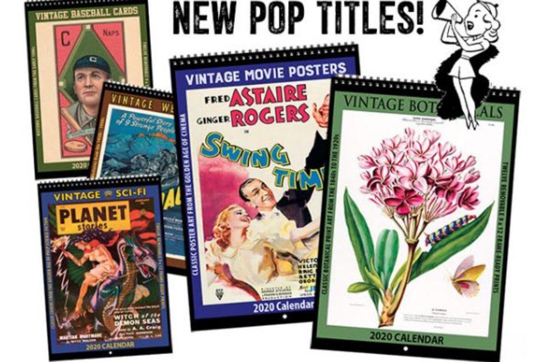 NEW Vintage 2020 Calendars Have Arrived!
