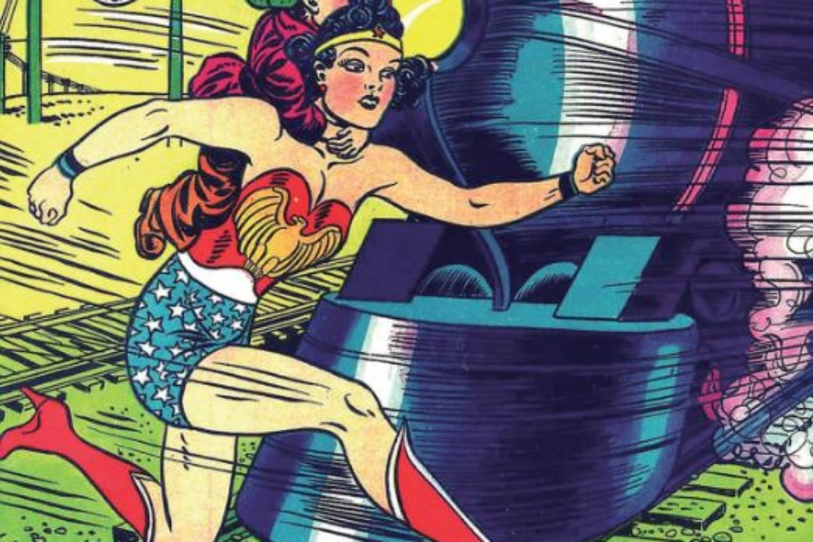 Faster than a speeding bullet.. More powerful than a locomotive… Look:  It's WONDER WOMAN!  Yeah, we ain't talkin' bout Superman… Read on!