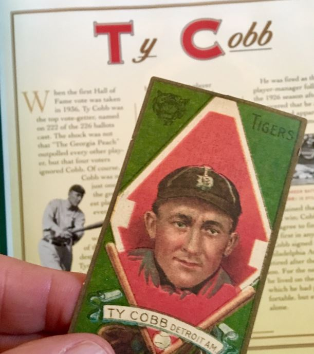 Happy Birthday Up Top to Ty Cobb – Born this day 1886!
