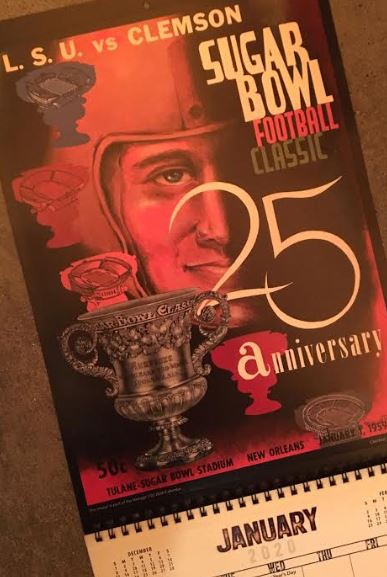 ANDY's Weekly College Football Contest BOWL Edition: WIN 2 Vintage 2020 Calendars of your choice! Details inside…