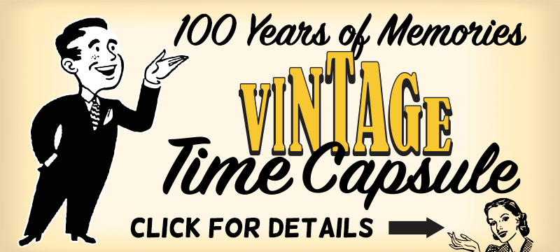 Vintage Time Capsule Banner