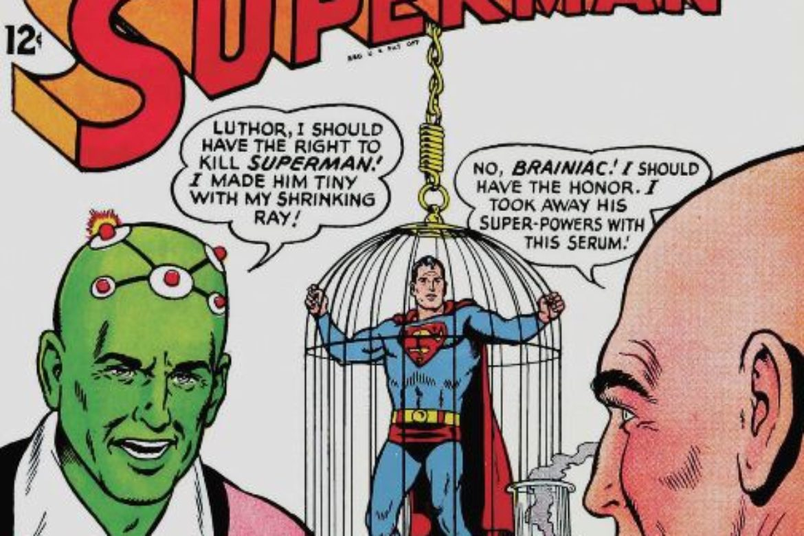"Superman wishes this was ""Parroty"" – He's in Danger!"