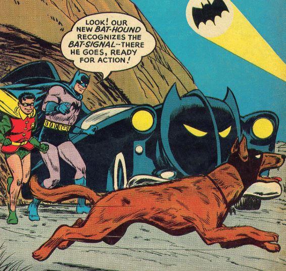 Nuthin' but a Hound Dog Batman!