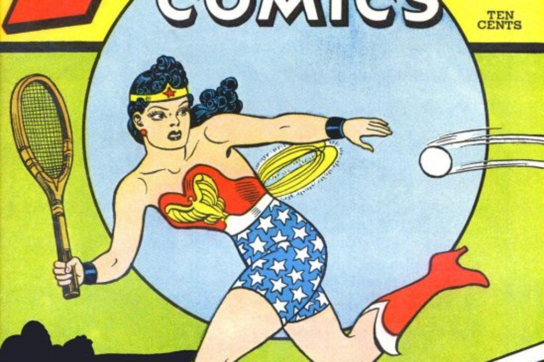 Wonder Woman's a Great Sport!