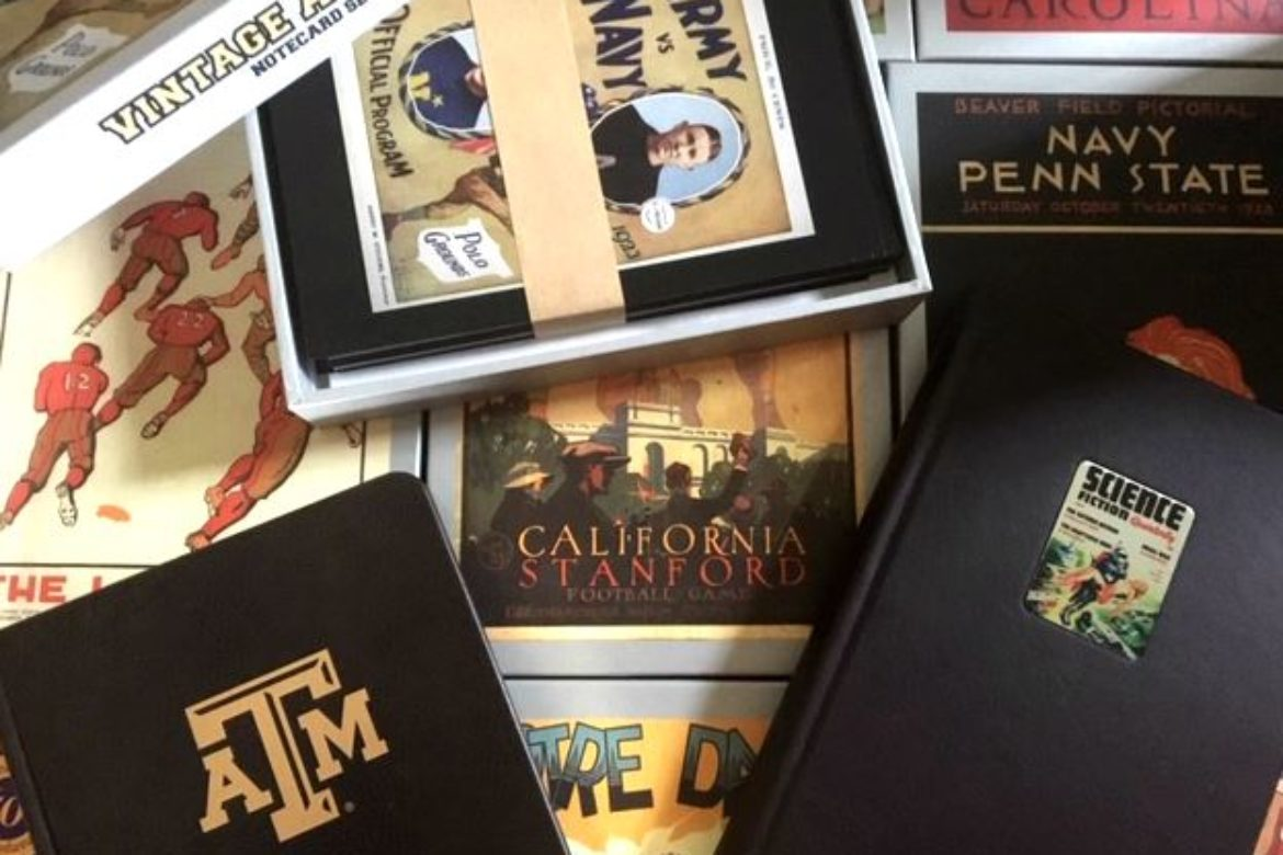 Vintage Journal Books are still ONLY $5 — and now Boxed College Notecard Sets are, too!