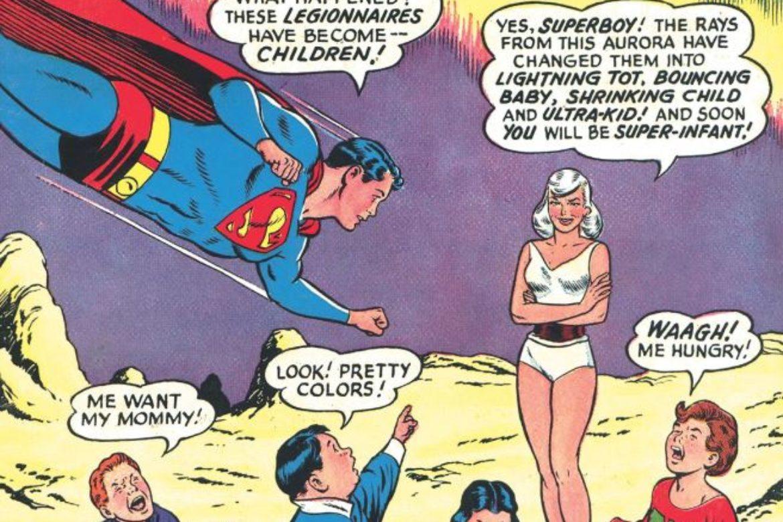 Look Superboy, We've Shrunk the Kids!