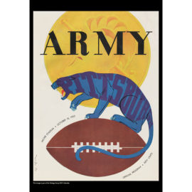 2021 Vintage Army Black Knights Football Calendar