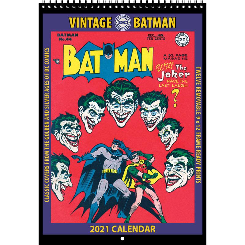 2021 Vintage Batman Calendar