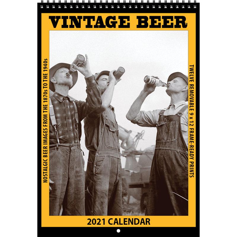 2021 Vintage Beer Calendar