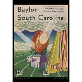 2021 Vintage Baylor Bears Football Calendar