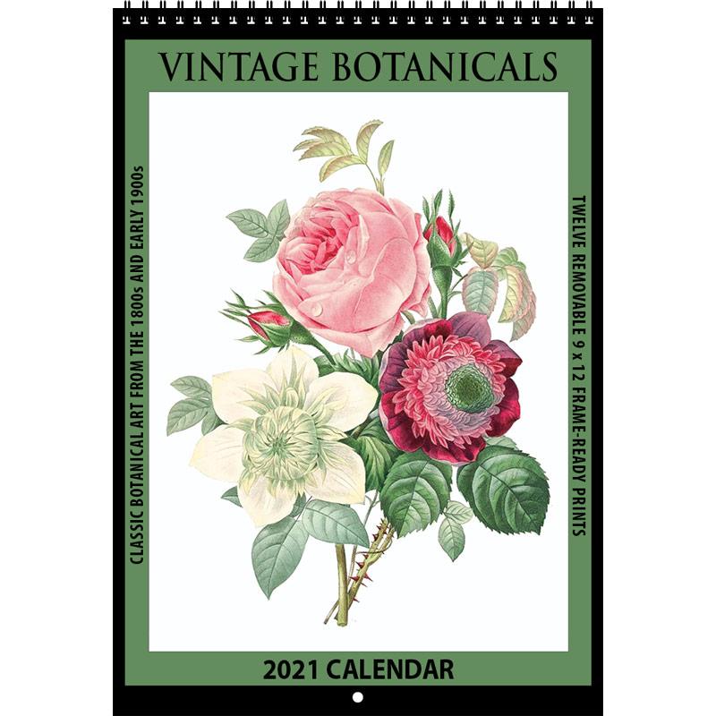 2021 Vintage Botanicals Calendar