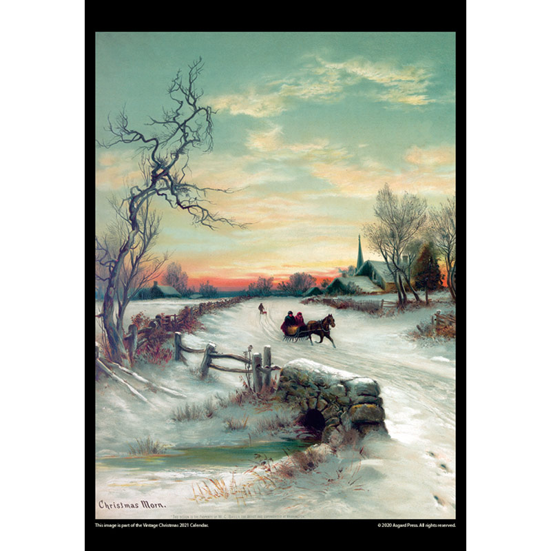 2021 Vintage Christmas Calendar