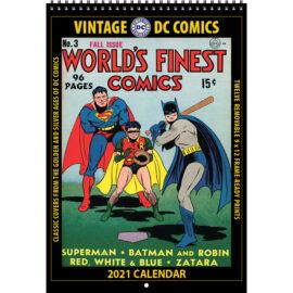 2021 Vintage DC Comics Calendar