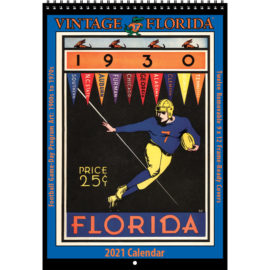 2021 Vintage Florida Gators Football Calendar