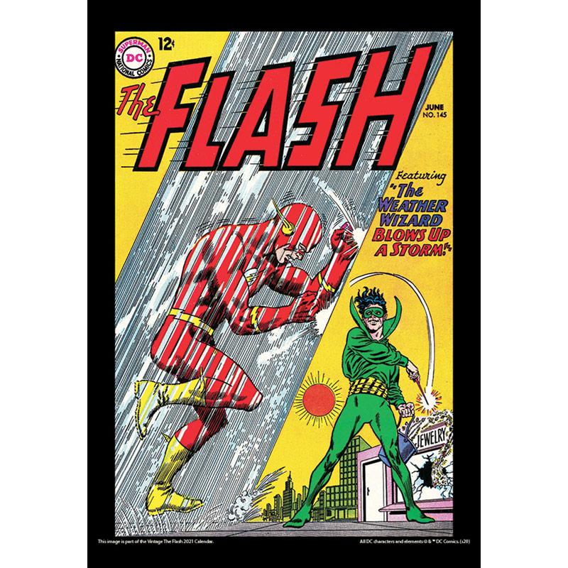 2021 Vintage The Flash Calendar