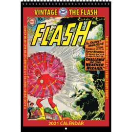 2021 Vintage The Flash Calendar
