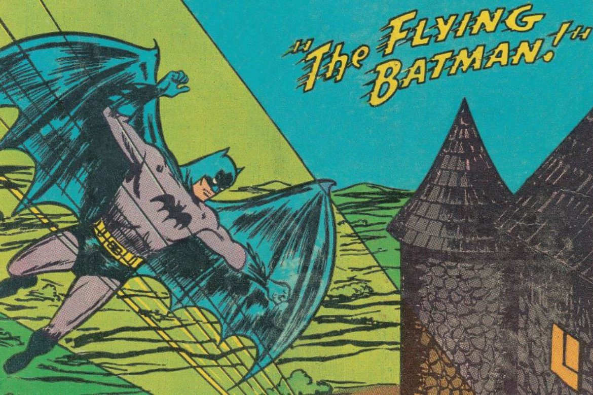 The Flying Batman!