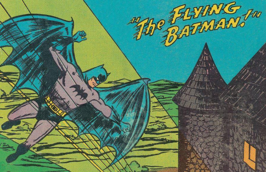 The Flying Batman!