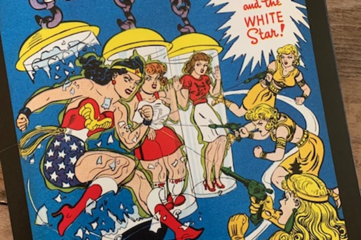 The Amazon Goes for the Gold!  Sneak Peek Story from our 2021 Vintage Wonder Woman Calendar…