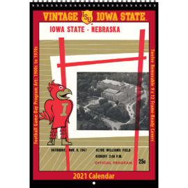2021 Vintage Iowa State Cyclones Football Calendar