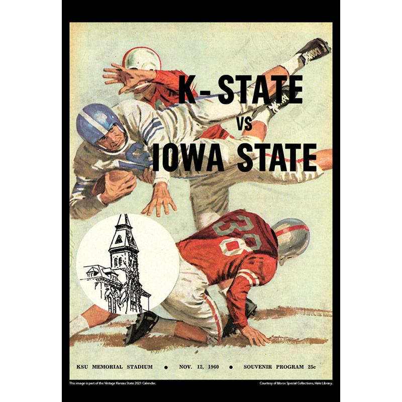 2021 Vintage Kansas State Wildcats Football Calendar