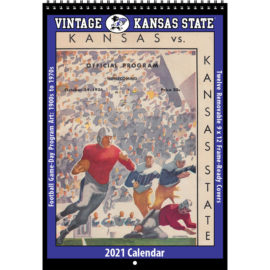 2021 Vintage Kansas State Wildcats Football Calendar