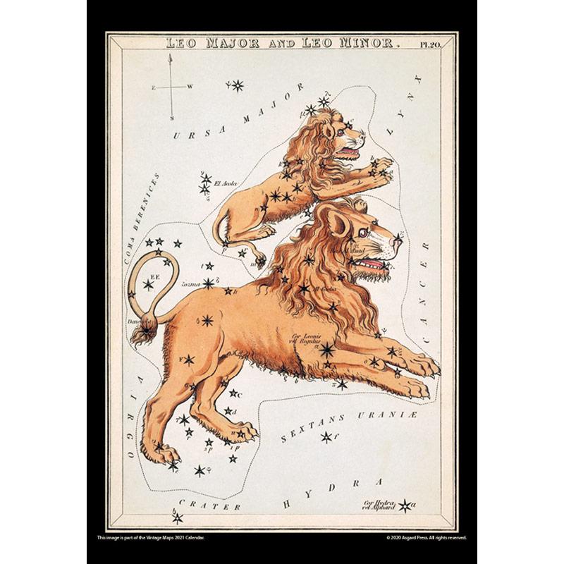 2021 Vintage Maps Calendar
