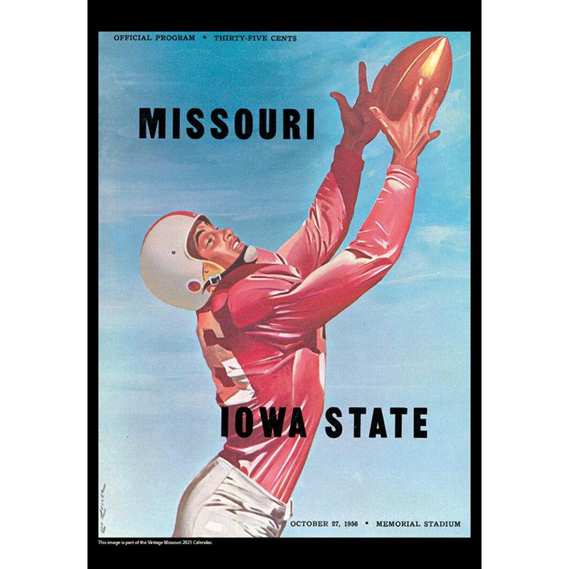 2021 Vintage Missouri Tigers Football Calendar