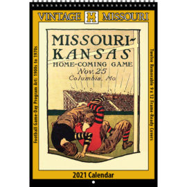 2021 Vintage Missouri Tigers Football Calendar