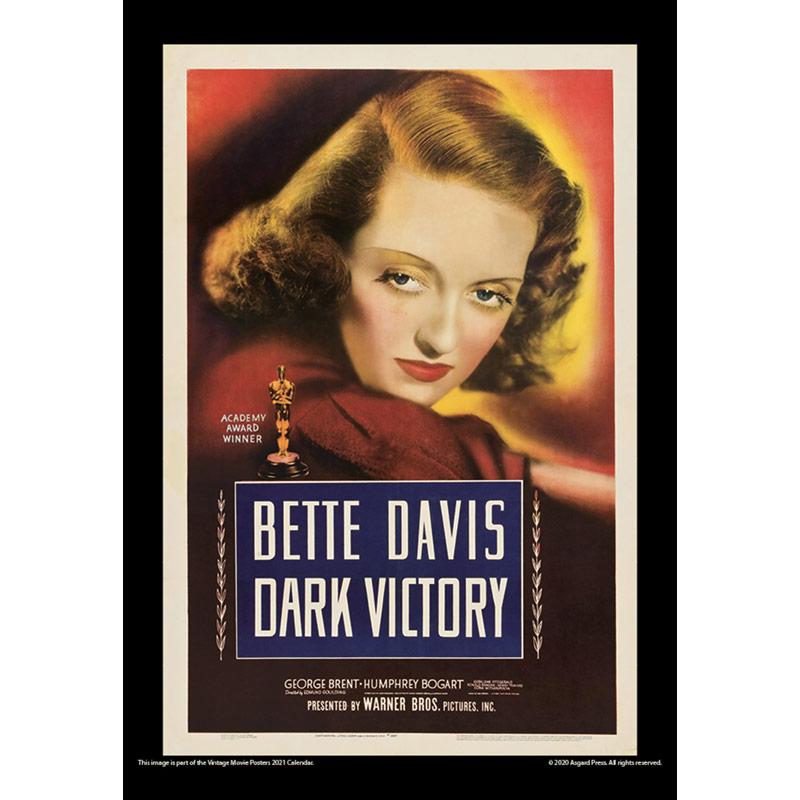 2021 Vintage Movie Posters Calendar