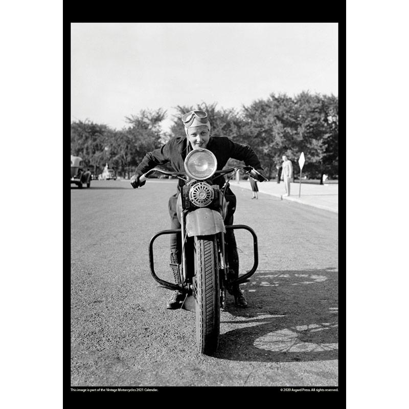 2021 Vintage Motorcycles Calendar