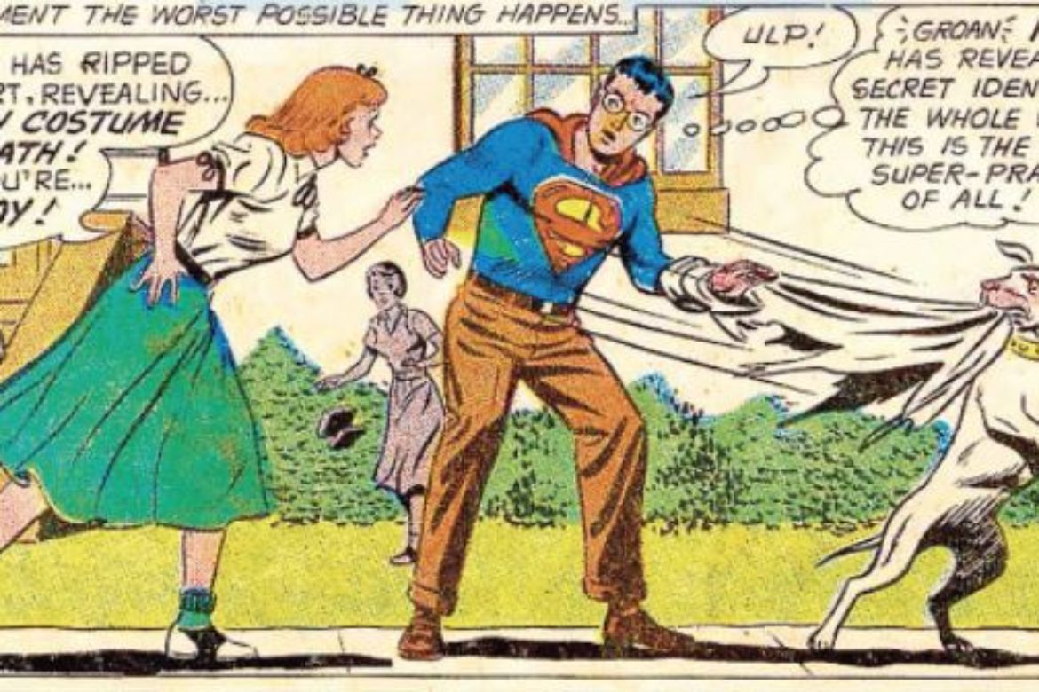 2021 Vintage Superman Calendar Sneak Peek!