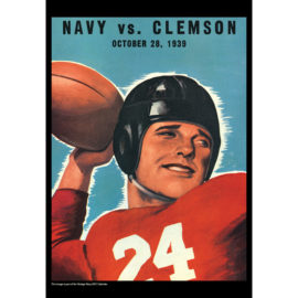 2021 Vintage Navy Midshipmen Football Calendar