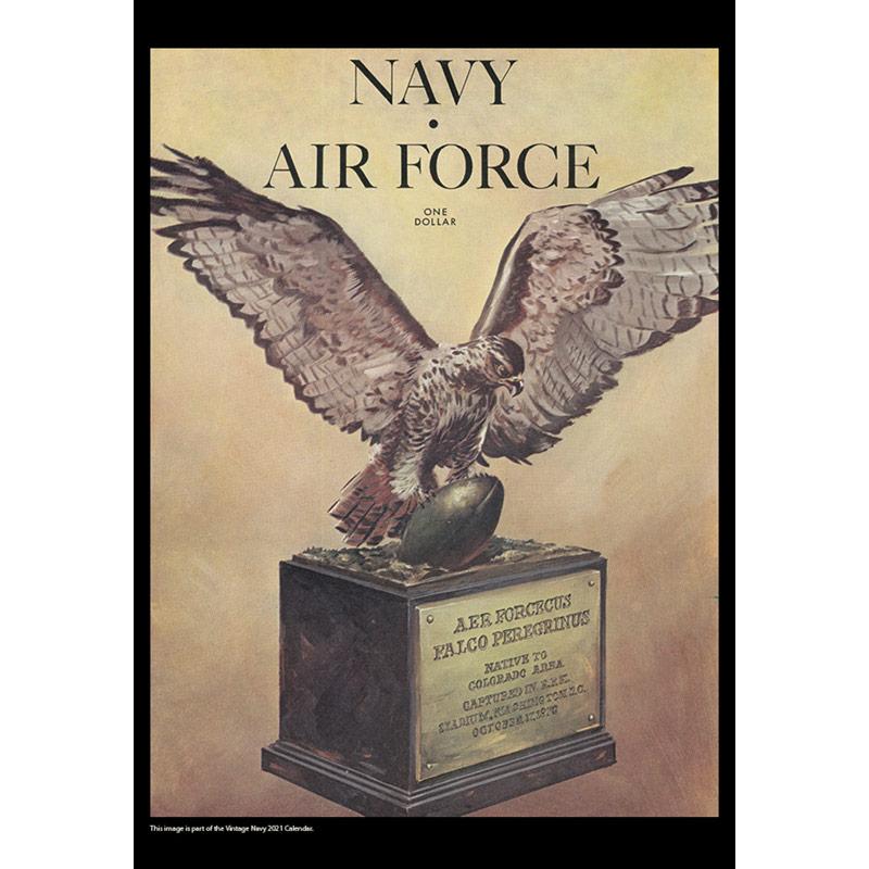 2021 Vintage Navy Midshipmen Football Calendar